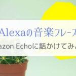 もう迷わない!Alexaの曲再生おすすめプレイリストフレーズ一覧